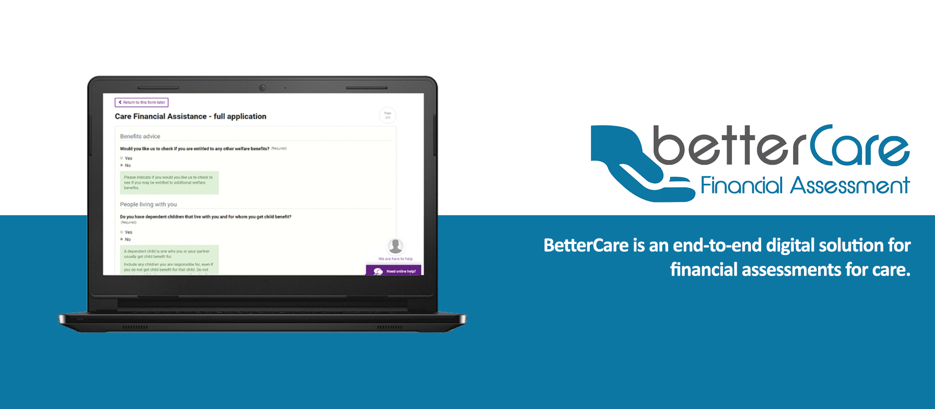 Looking Local - BetterCare Financial Assessment