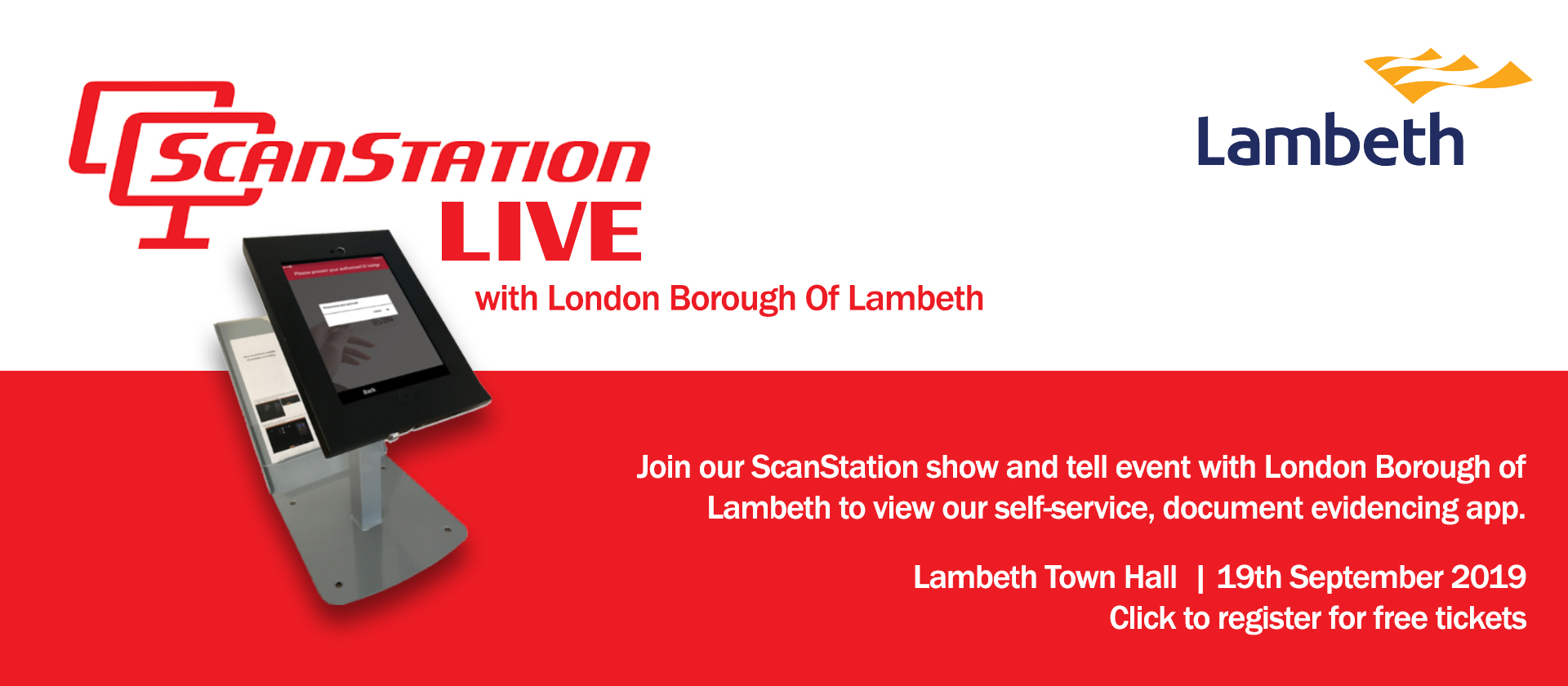 Looking Local - ScanStation Live at London Borough of Lambeth